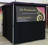 Enclosed Booth from D4 Photobooths